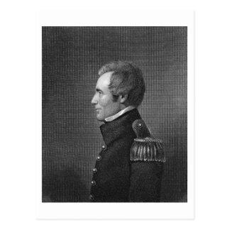 Carte Postale Le Général principal Edmund Pendleton Gaines