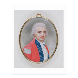 Carte Postale Le Général principal monsieur Barry Close (d.1813)