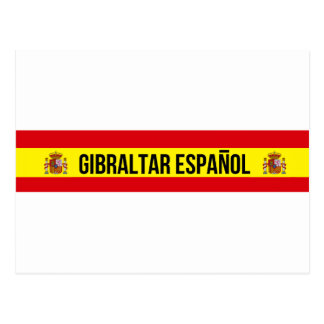 Carte Postale Le Gibraltar Español - Espagnol Gibraltar
