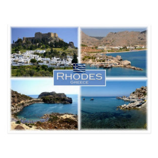 Carte Postale Le GR Grèce - Rhodes -