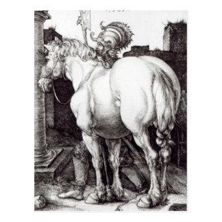 Carte Postale Le grand cheval, 1509