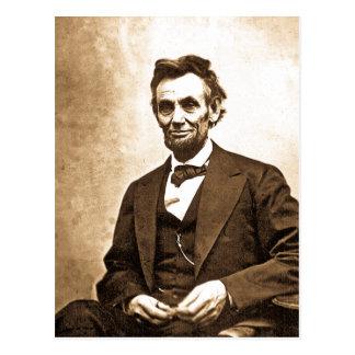 Carte Postale Le grand émancipateur - Abe Lincoln (1865)