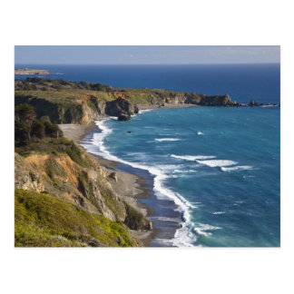 Carte Postale Le grand littoral de Sur en Californie, Etats-Unis
