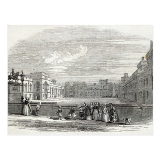 Carte Postale Le grand quadrilatère, château de Windsor