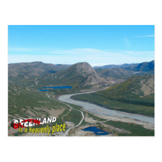 Carte Postale Le Groenland est un endroit merveilleux