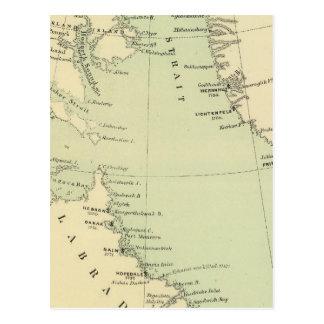 Carte Postale Le Groenland, Labrador