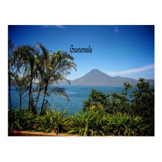 Carte Postale Le Guatemala, le beau paysage de la nature