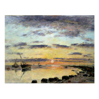 Carte Postale Le Havre, 1889 (huile sur la toile)