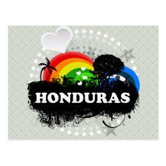 Carte Postale Le Honduras fruité mignon