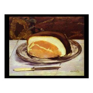 Carte Postale Le jambon par Edouard Manet