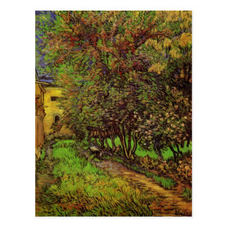 Carte Postale Le jardin de l'hôpital de St Paul par Van Gogh