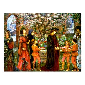 Carte Postale Le jardin enchanté de Messer Ansaldo