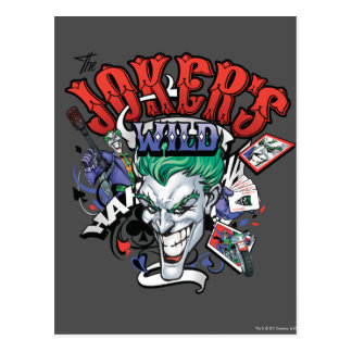 Carte Postale Le joker sauvage