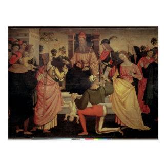 Carte Postale Le jugement de Solomon
