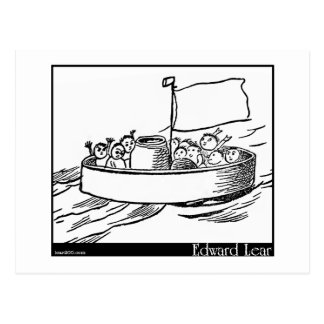 Carte Postale Le Jumblies d'Edward Lear