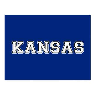 Carte Postale Le Kansas