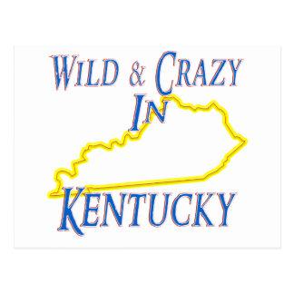 Carte Postale Le Kentucky - sauvage et fou