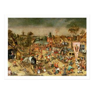 Carte Postale Le Kermesse du festin de St George