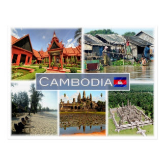 Carte Postale Le KH Cambodge -