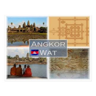 Carte Postale Le KH Cambodge - Angkor Vat -