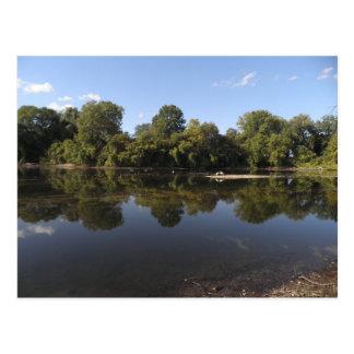 Carte Postale Le lac