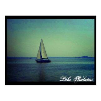Carte Postale Le Lac Balaton