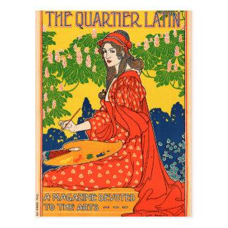 Carte Postale Le latin de Quartier. Une magazine consacrée aux