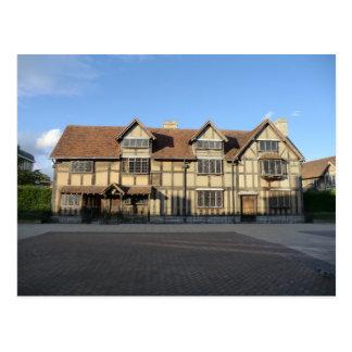 Carte Postale Le lieu de naissance de Shakespeare dans Stratford