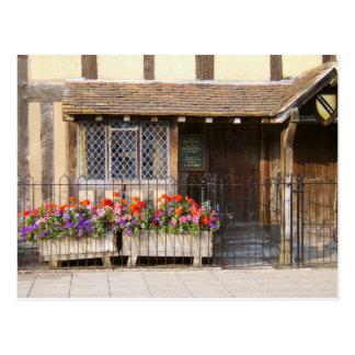 Carte Postale Le lieu de naissance de William Shakespeare