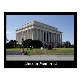 Carte Postale Le Lincoln Memorial