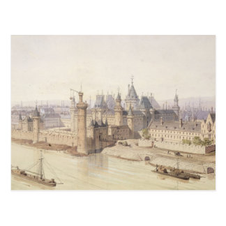 Carte Postale Le Louvre pendant le règne de Charles V