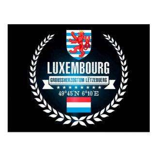 Carte Postale Le Luxembourg