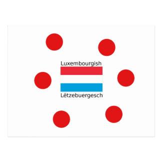 Carte Postale Le Luxembourg diminuent et conception