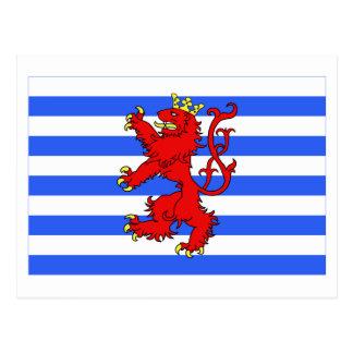 Carte Postale Le Luxembourg diminuent (le de facto)