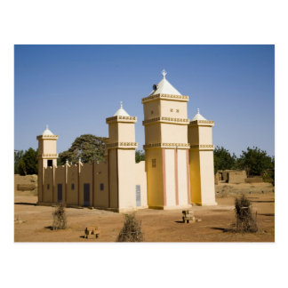 Carte Postale Le Mali, Bamako. Mosquée, route de Bamako-Djenne