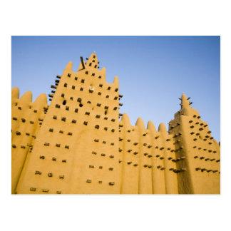 Carte Postale Le Mali, Djenne. Mosquée grande