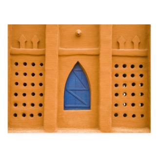 Carte Postale Le Mali, Segou. Immeuble de brique traditionnel de