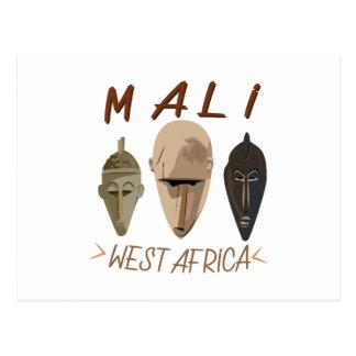 Carte Postale Le Mali Wesr Afrique