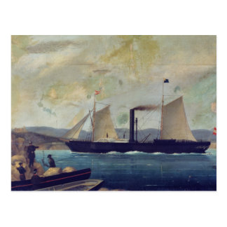 """Carte Postale Le """"Mallorcan"""", bateau sur lequel George Sand et"""