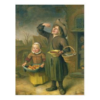 Carte Postale Le mangeur de sirop