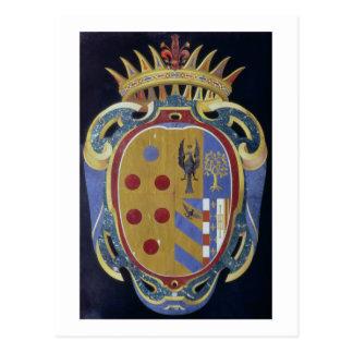 Carte Postale Le manteau de Medici-Lorena des bras, c.1638 (dur