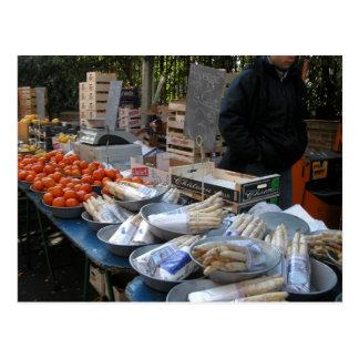 Carte Postale Le marché de l'agriculteur, Louans, Bresse,
