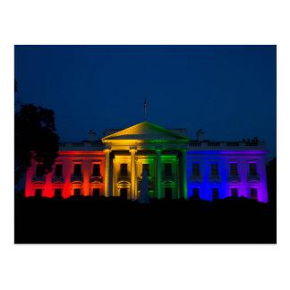 Carte Postale Le mariage homosexuel de nuit est devenu juridique