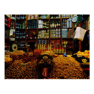 Carte Postale Le Maroc : Amants olives