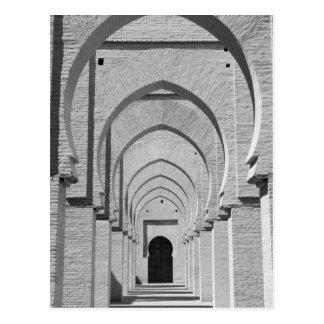 Carte Postale Le MAROC, Tizi, N, route de passage d'essai, ÉTAIN