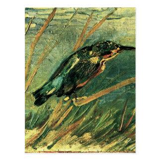 Carte Postale Le martin-pêcheur par Vincent van Gogh