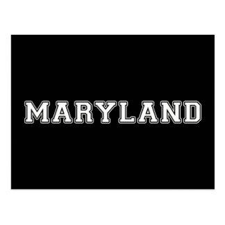 Carte Postale Le Maryland