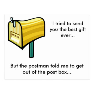 Carte Postale Le meilleur cadeau jamais ?