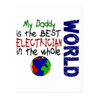 Carte Postale Le meilleur électricien en monde 2 (papa)