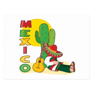 Carte Postale Le Mexique